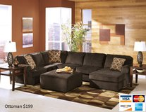 VISTA CHOCOLATE LARGE U SHAPE SECTIONAL in San Bernardino, California