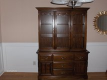 Oak China Cabinet in Perry, Georgia