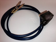 Scart - Audio Chinch Cable in Ramstein, Germany