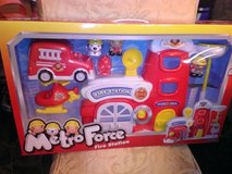 New / Metro  Fire Station Toy  Set in Fort Campbell, Kentucky
