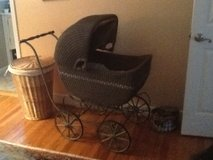 Antique baby buggy in Beaufort, South Carolina