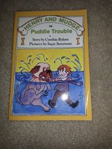 Henry and Mudge in Puddle Trouble book in Camp Lejeune, North Carolina