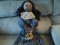 Indian Doll Handmade New! Made by Crafter in Wheaton, Illinois