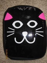 Girls' Black Kitty Face Back Pack - like new!! in Lockport, Illinois