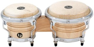 LP Music Collection® Natural Wood Bongos Mini Tunable in Houston, Texas