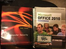 Microsoft Office 2010 Introductory and Computer Security textbooks for OTC in Fort Leonard Wood, Missouri