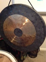 """22"""" Chau gong with mallet in Houston, Texas"""