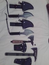 Survival Knives, Tactical Axes & Tomahawks, Pocket Knives, Daggers, Swords, etc... in Lockport, Illinois