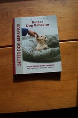 BETTER DOG BEHAVIOR & SHETLAND SHEEPDOG BOOKS in Aurora, Illinois