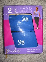 NEW! Jenny Craig 2 lb Hand Weights in Naperville, Illinois