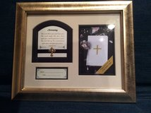 """Heartfelt""Baby's Christening photo frame. in Bolingbrook, Illinois"