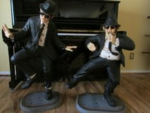 Blues Brother's Statutes in Tomball, Texas