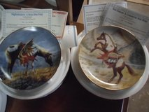 7 Danbury Mint War ponies plates in Alamogordo, New Mexico