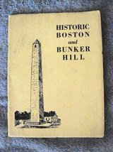 Historic 1928 Book: Boston & Bunker Hill in Alamogordo, New Mexico