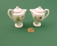 "TEAPOT SALT & PEPPER SHAKERS JAPAN RED MARK, 2-1/4"" in St. Charles, Illinois"