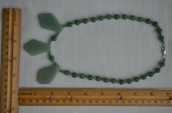 Green 100% Natural A JADE Jadeite Bead beads Necklace in Lockport, Illinois