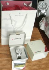 Wenger Womens Chronograph Watch 70749 (New, but needs battery) in Naperville, Illinois