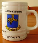 502 Infantry Beer stein in Fort Campbell, Kentucky