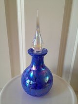 "6 1/2"" Purple Glass Perfume Bottle in Bolingbrook, Illinois"