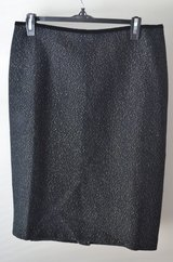 Talbots Black Skirt Size 10 MFP $119 in Lockport, Illinois