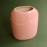 DUSTY PINK/MAUVE ART POTTERY VASE -  DI CARLO in Glendale Heights, Illinois