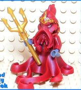 C7 Lego Atlantis Squid Warrior Minifigure 8061 8078 in Houston, Texas