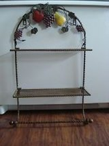 Home Interiors kitchen towel rack w/2 shelves in Baytown, Texas