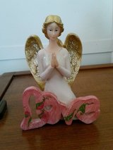 """Love"" Angel Figurine with Glitter in Fort Benning, Georgia"