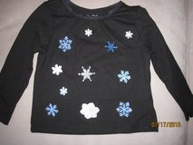 Toddler Girl Custom Hand Made Winter Christmas Shirts Size 18M - CUTE!! in Plainfield, Illinois