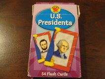 US Presidents Flash Cards in Bartlett, Illinois