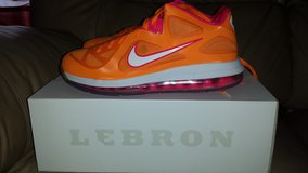 "Lebron 9 Low ""Floridian"" size 10 in Ramstein, Germany"