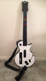 Wii Guitar Hero White Guitar and video game in San Diego, California