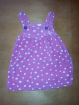 18 Month Girls Pink Dress with White Polk a dots in Joliet, Illinois