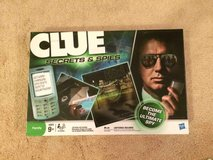 Clue Secrets and Spies Board Game in Wheaton, Illinois