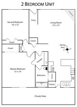 2 Bedroom Apartment in Camp Pendleton, California