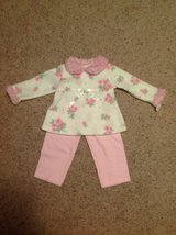 Brand New Girls 2pc Set size 12months in Fort Benning, Georgia