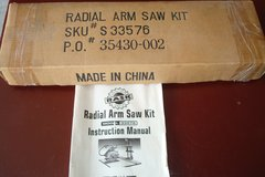 Radial arm saw kit in Morris, Illinois