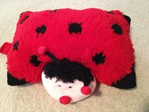 EUC Ladybug Pillow Pet in Bolingbrook, Illinois