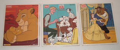 Lot of 4 Vintage Playskol Wooden Board Puzzles Ages 2-5 in Morris, Illinois