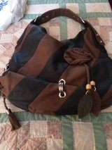 Trendy black n brown purse in Travis AFB, California