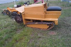 Track Driven Trencher W/Trailer in Fort Polk, Louisiana