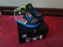 BRAND NEW, STILL IN BOX!  DC SHOES FOR A TODDLER BOY SZ 10 (2 PAIRS) in Fort Belvoir, Virginia