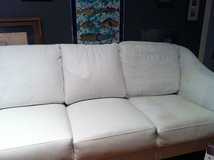 New Year's Reduction! White Leather Sofa in Kingwood, Texas