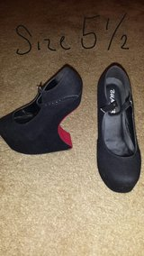 Black & Red Heels Price Negotiable and.REDUCED in Byron, Georgia