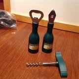 Bottle Openers Corkscrew Pack of 3 Beer Soda Wine Can Green in Kingwood, Texas