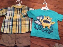 ***BRAND NEW***3 Piece Short Set For Boy***SZ 2T in The Woodlands, Texas