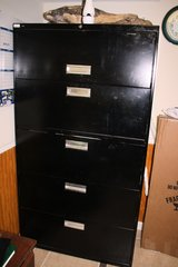 5 drawer filing cabinet in Fort Campbell, Kentucky
