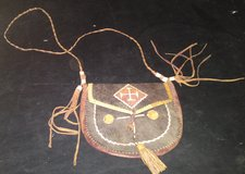 VERY OLD AFRICAN LEATHER POUCH in Camp Lejeune, North Carolina