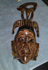 VINTAGE GURO AFRICAN WOODEN MASK in Camp Lejeune, North Carolina