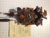 Cuckoo clock with music in Wiesbaden, GE